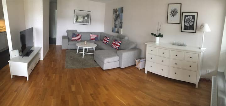 Large fresh apartment in Gothenburg!!