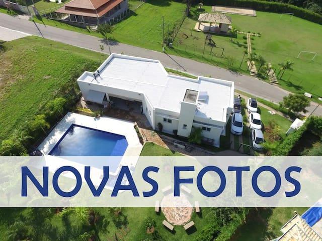 1500m² Casa-chácara em Condomínio Fechado: Itupeva