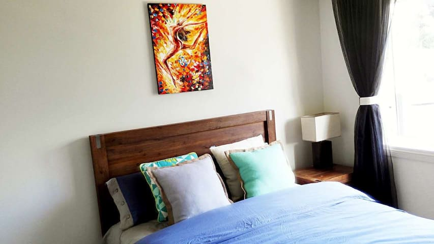 Comfortable room in city finger - Auckland - Villa