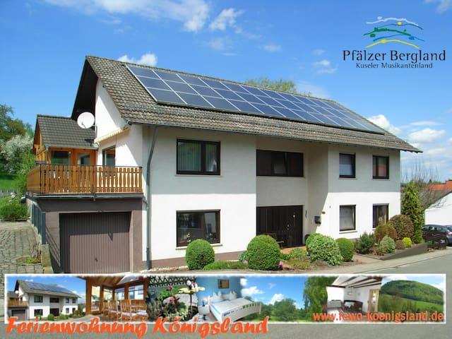 4**** Ferienwohnung Königsland - Hinzweiler - Apartment