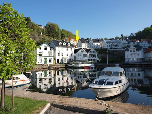"""Villa Dilla"" - Charming apartment in Tvedestrand"