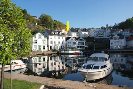 Charming apartment on Southcoast - Tvedestrand - Lejlighed