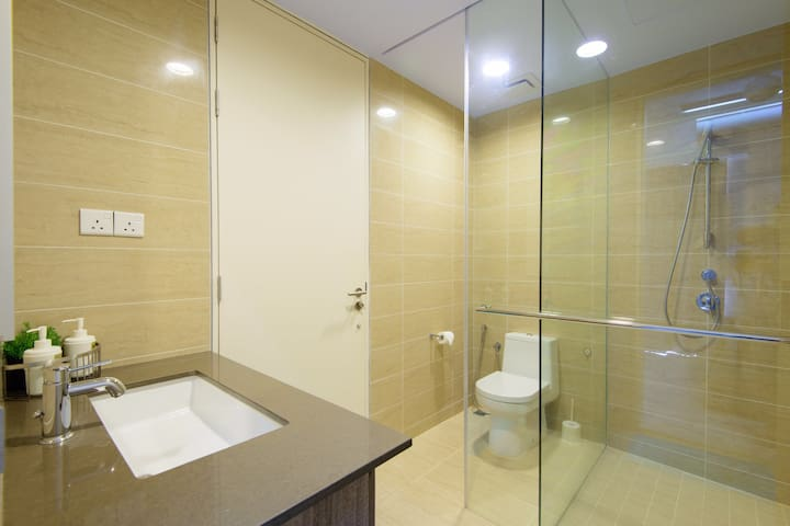 Bathroom attached to room