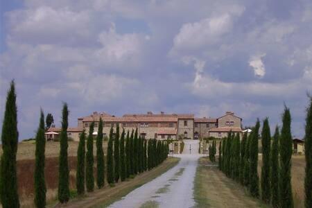 Toscana crete Senesi - Asciano - Daire