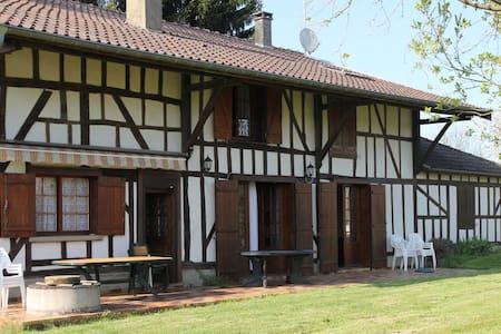 Grande maison champenoise pour 12p - Louze - Casa