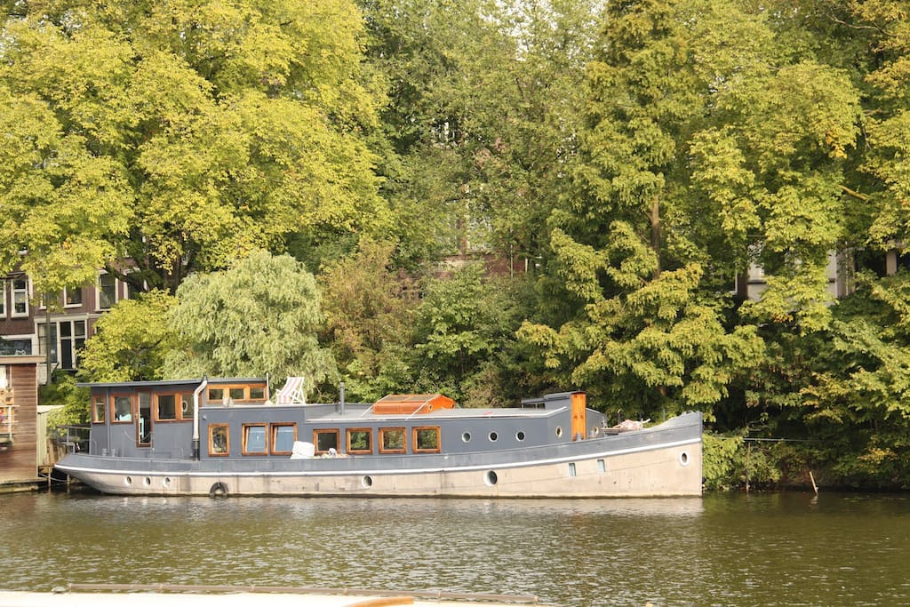 Houseboat in amsterdam bateaux louer amsterdam for Airbnb amsterdam houseboat