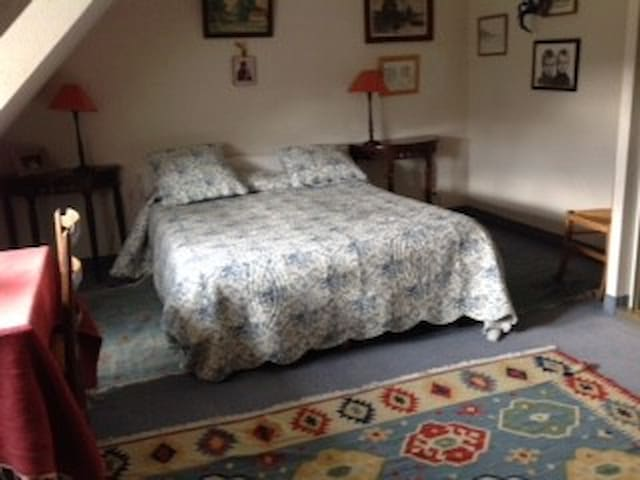 chambre double Christelle - Theix - House