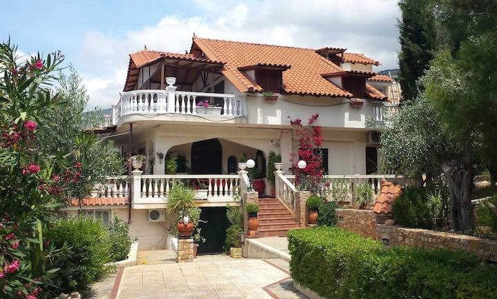 Villa Greiss, Porto Germeno, Greece