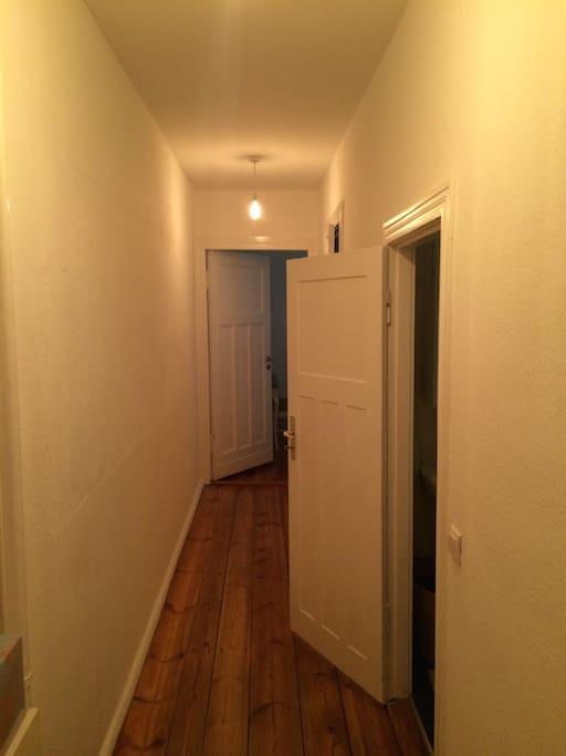 Large apartment.