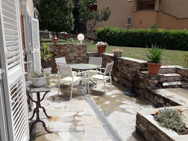 T1 dans villa a Corte au cœur de la Corse .