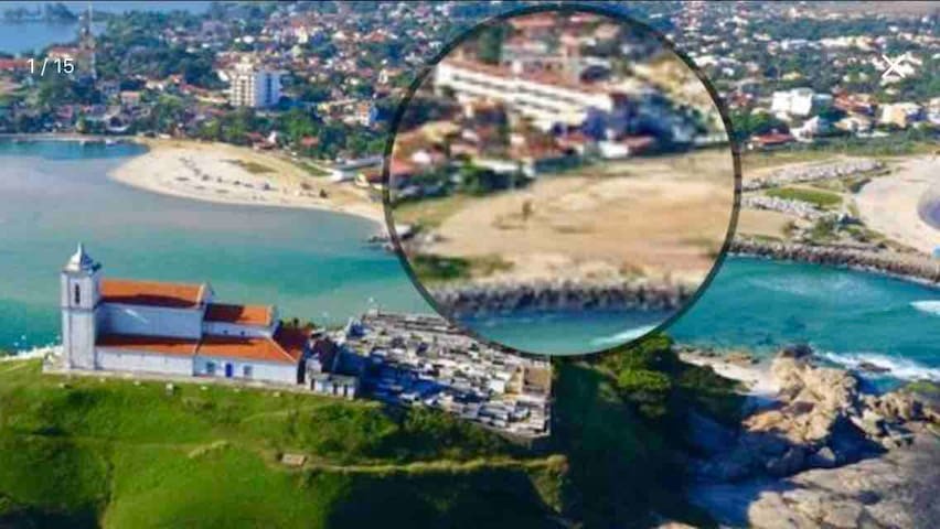 Cobertura duplex vista mar Itauna, lagoa e cidade