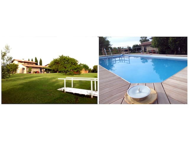 Home Garden & Pool near the beach - Ameglia - Apartment