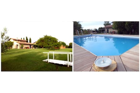 Home Garden & Pool near the beach - Ameglia