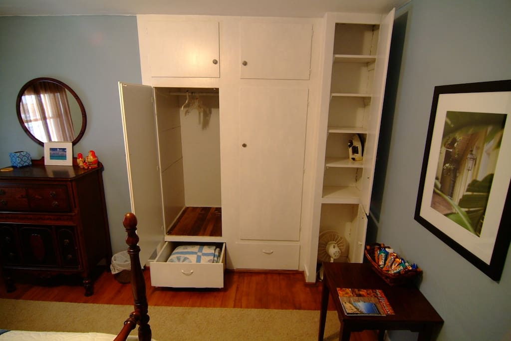 Room #2 Double BedroomClosets