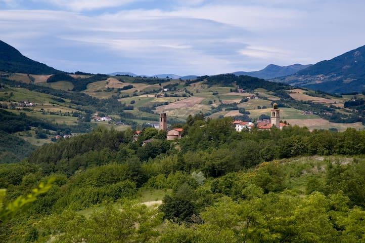 Rustico 1400 - Appennino Parmense - Vianino - Hus