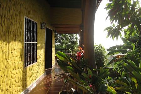 The yellow house by the sea - Tubará