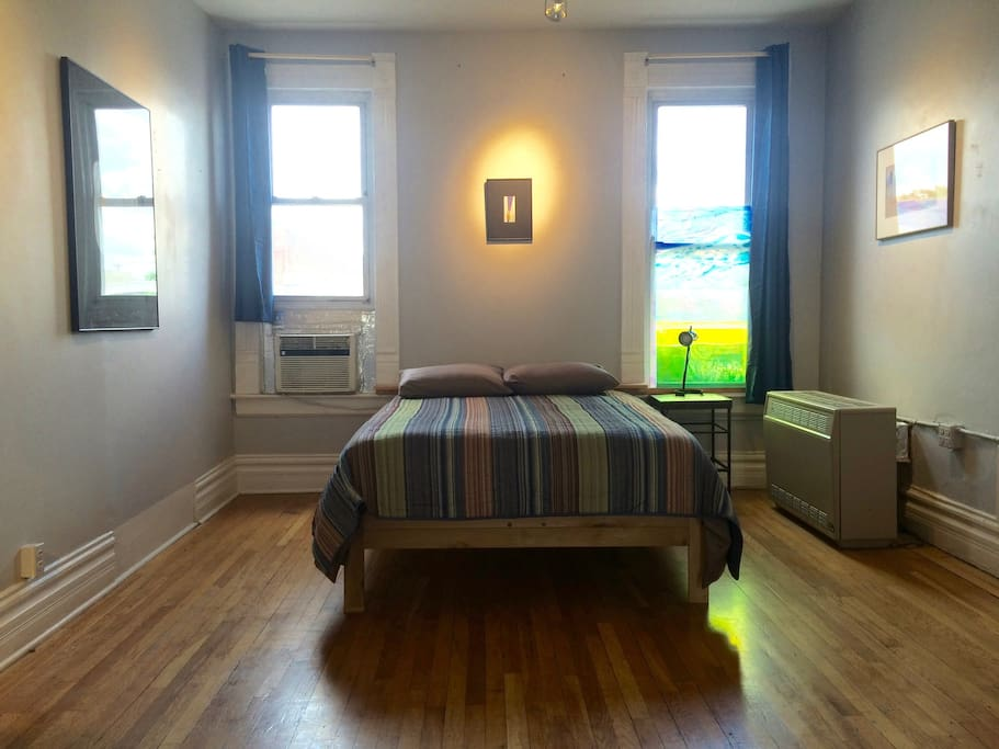 Your peaceful room, with art