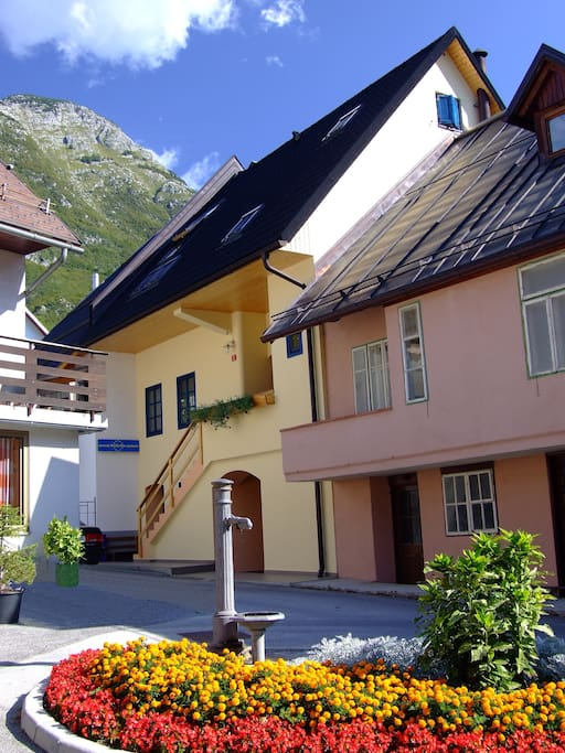 Apartments Bovec house - Summer