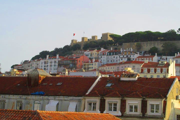 Apartment Baixa/Chiado view Castle - Lisboa - Byt
