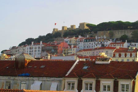 Apartment Baixa/Chiado view Castle - Lisboa - Wohnung
