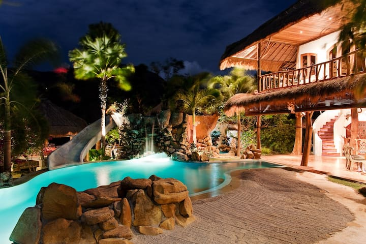 Katana Villa with Waterslide & View