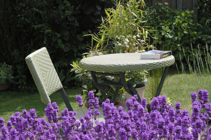 chambre calme proche centre ville - Bayeux - Dom
