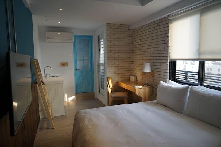 4 Design Inn-Blue England 藍色英格蘭