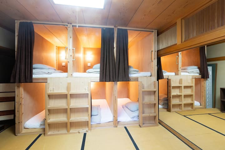 B1-1《Mix-dorm Max 10 people》Washitsu!Tatami room