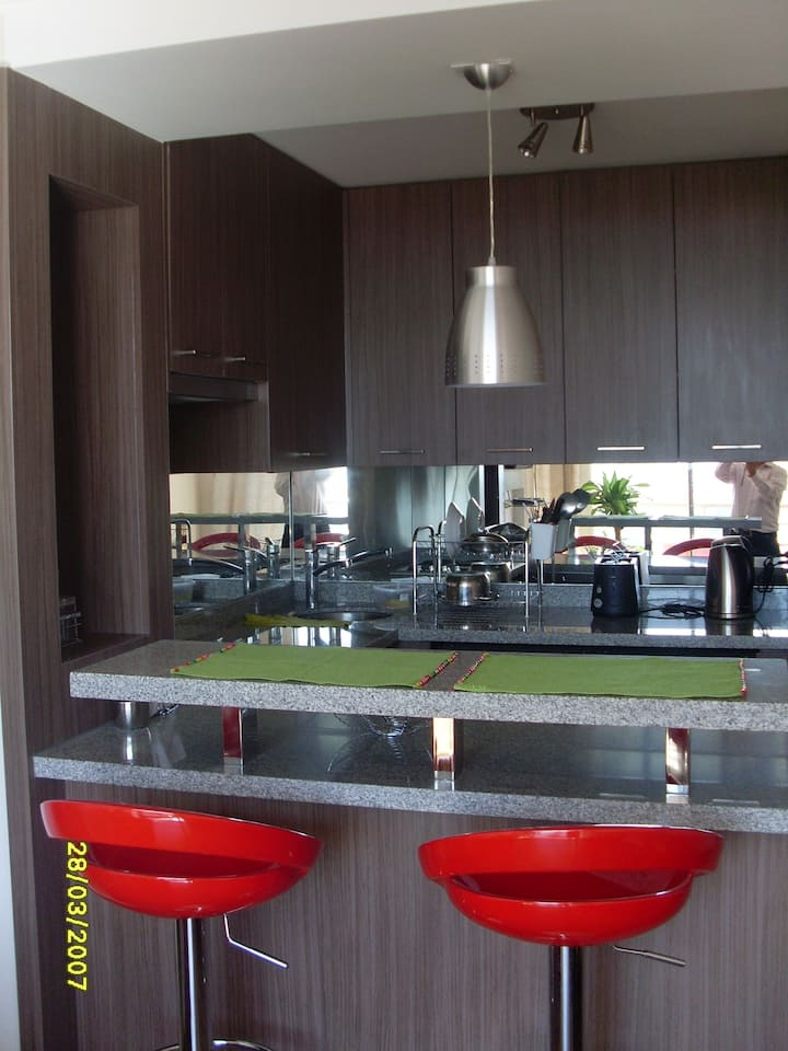 Furnished 1 bedroom gem in the heart of Las Condes