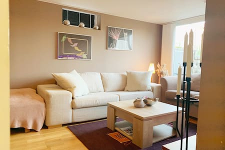 90 square meter apartment near the sea and lakes