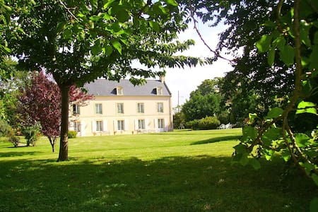 Lovely mansion house in Normandie - Ver-sur-Mer - Huis