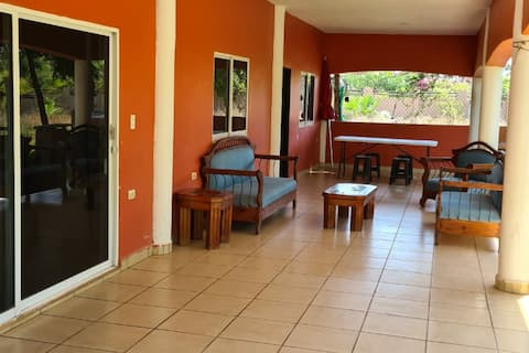 CASA COLIBRI with private acces to BEACH & PALAPA