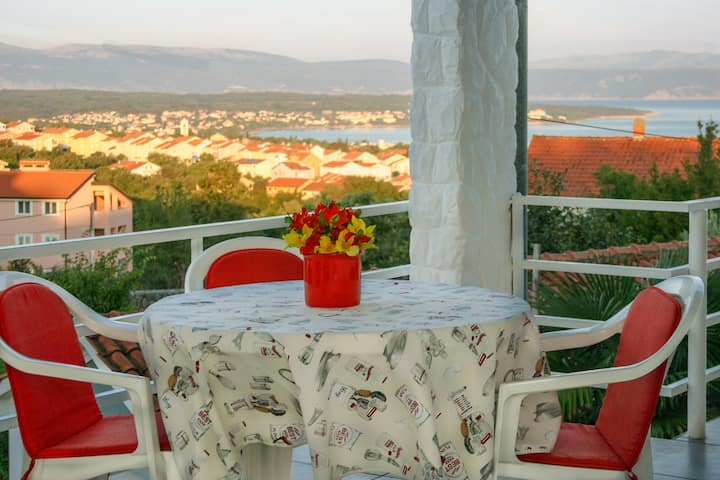 Apartment Ivo, great sea view