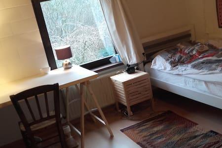 Chambre cool dans maison unifamiliale - 奥蒂尼-新鲁(Ottignies-Louvain-la-Neuve) - 独立屋