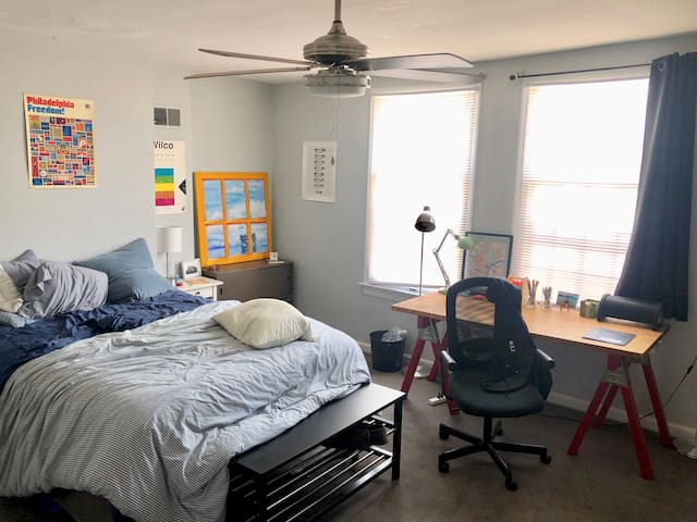 Summer Sublet Big Room w/ Central Air, Backyard