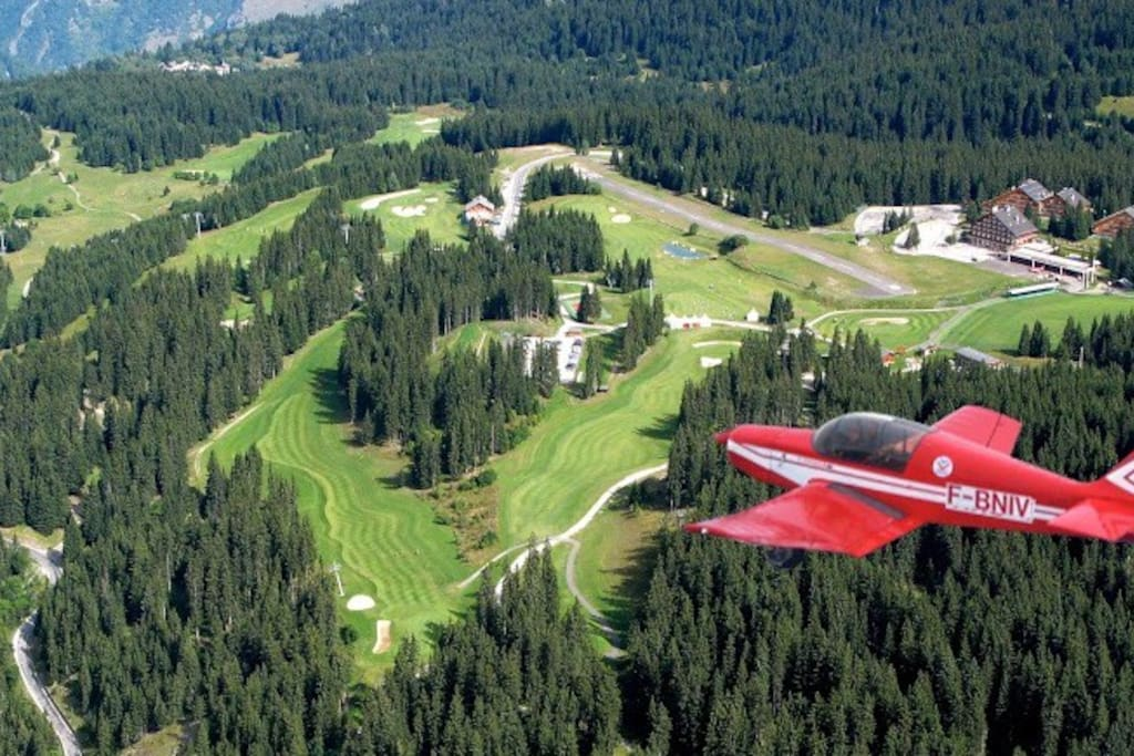 Experience a scenic flight or take a flying lesson.