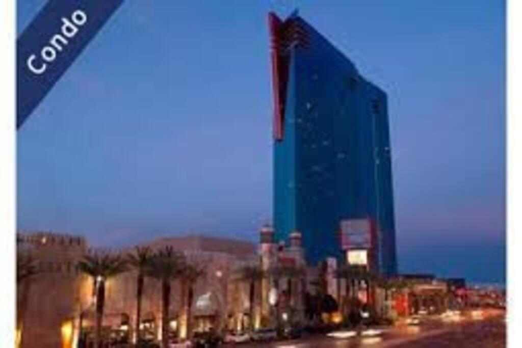 View from Las Vegas Strip