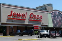 Jewel-Osco is just 5 minutes away (1.3 miles) from the property!