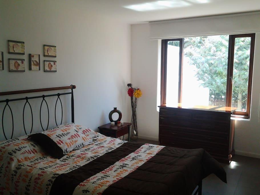 Habitación cálida y espaciosa!