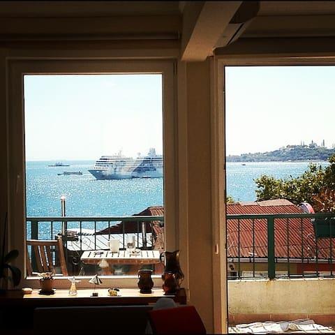 Bosphorus sea view central besiktas - Istambul - Apartament