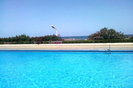 Magnifique T2  piscine vue mer. - 르발카레스 - 아파트