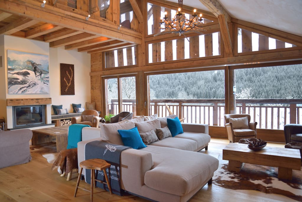 Relaxing space at Chalet Cannelle