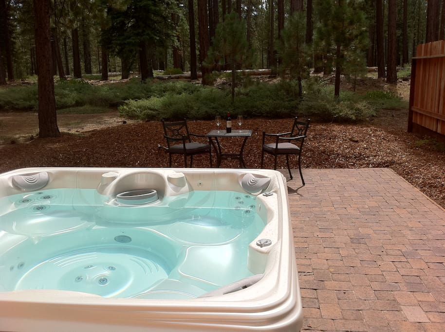 6 person Hot Tub put in 2011 on new patio