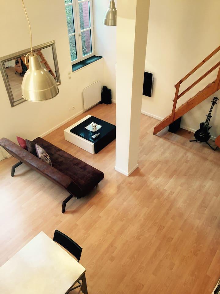 Appartement type Loft Vieux Lille