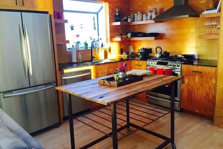 Beautiful 2 bedroom houseboat - Sausalito - Hus