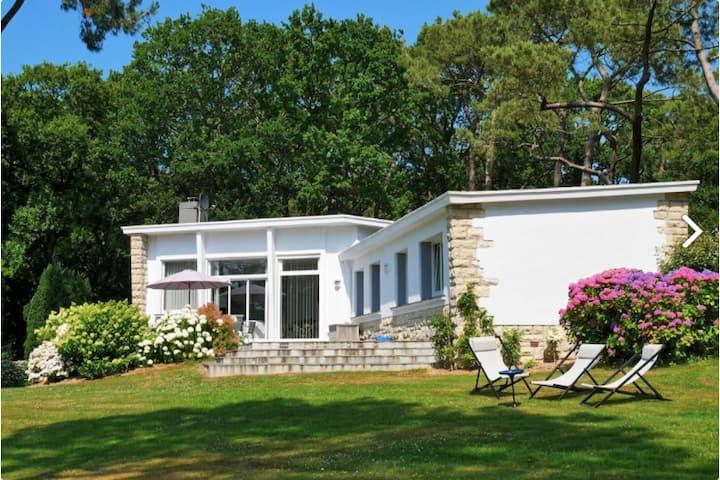 Maison d'architecte à Varengeville sur mer pour 8