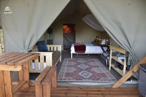 Natures Loft:Tintin's Tent Off Grid accomodation