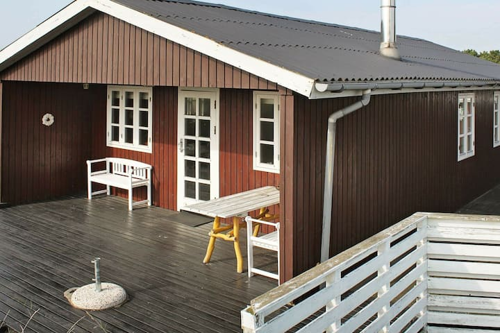 Quaint Holiday Home in Fanø With Roofed Terrace