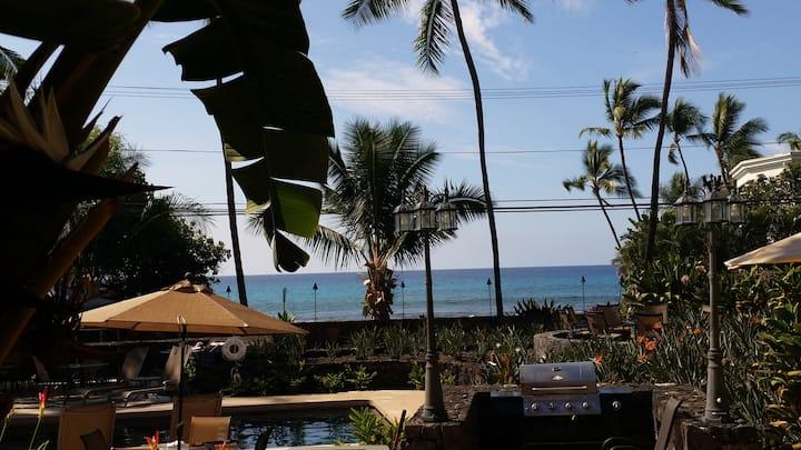 Kona Oasis across from Ocean!!