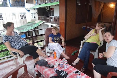 Baanrimtaling Guesthouse - อำเภอ เชียงของ เชียงราย ประเทศไทย